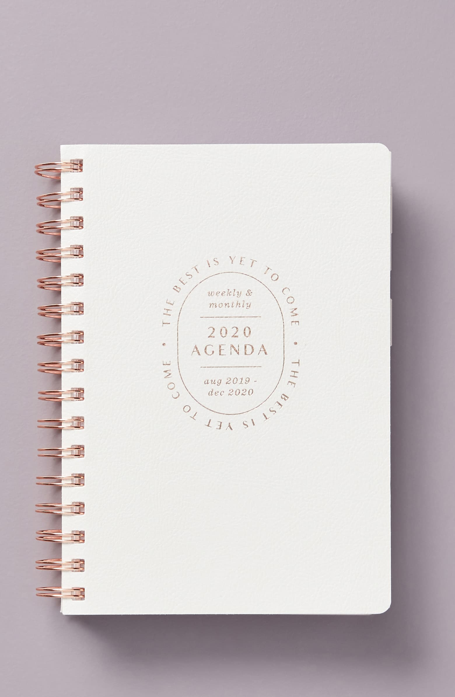 Anthropologie Best to Come Planner -