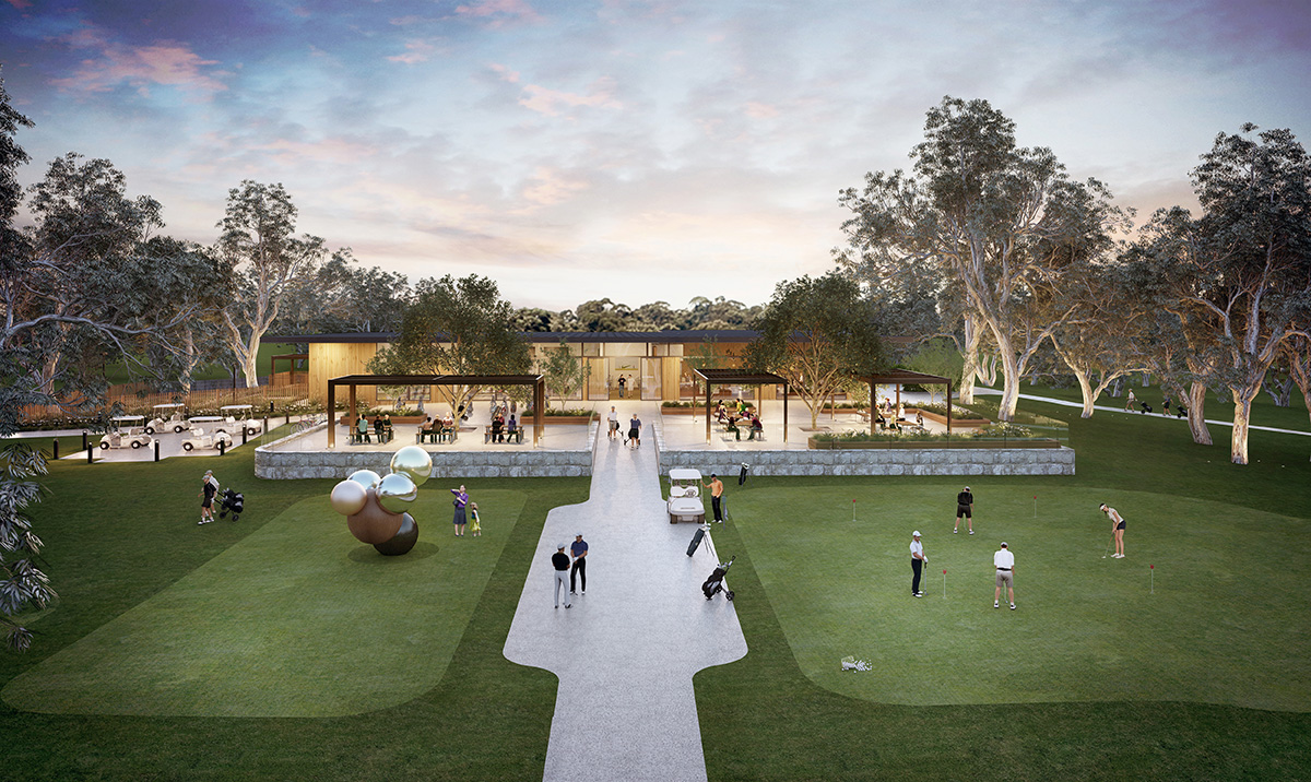 An evolution of Hamersley Public Golf Course, Western Australia - Client - City of Stirling
