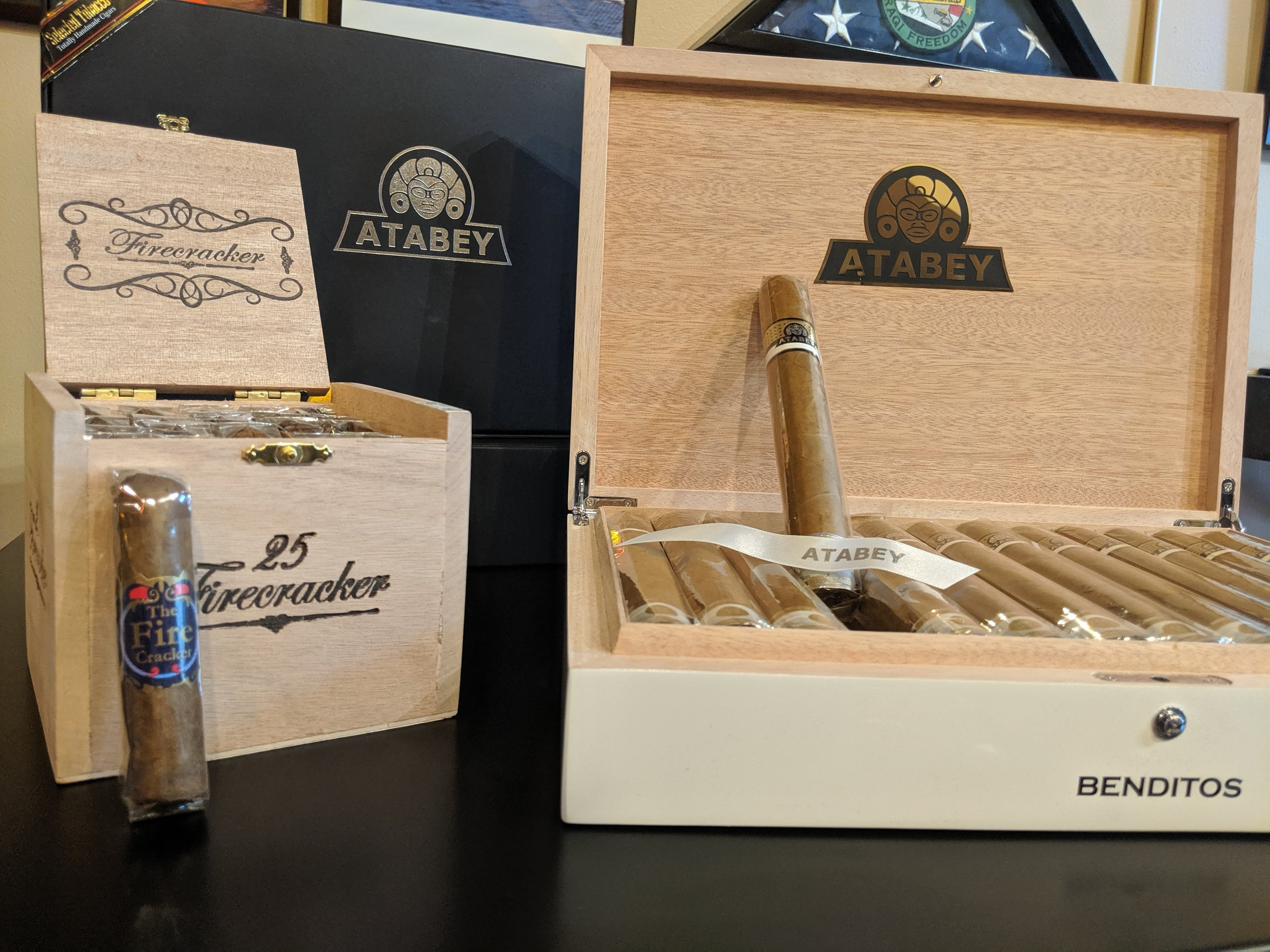 The Atabey and Firecracker now exclusively at The Cigar Exchange