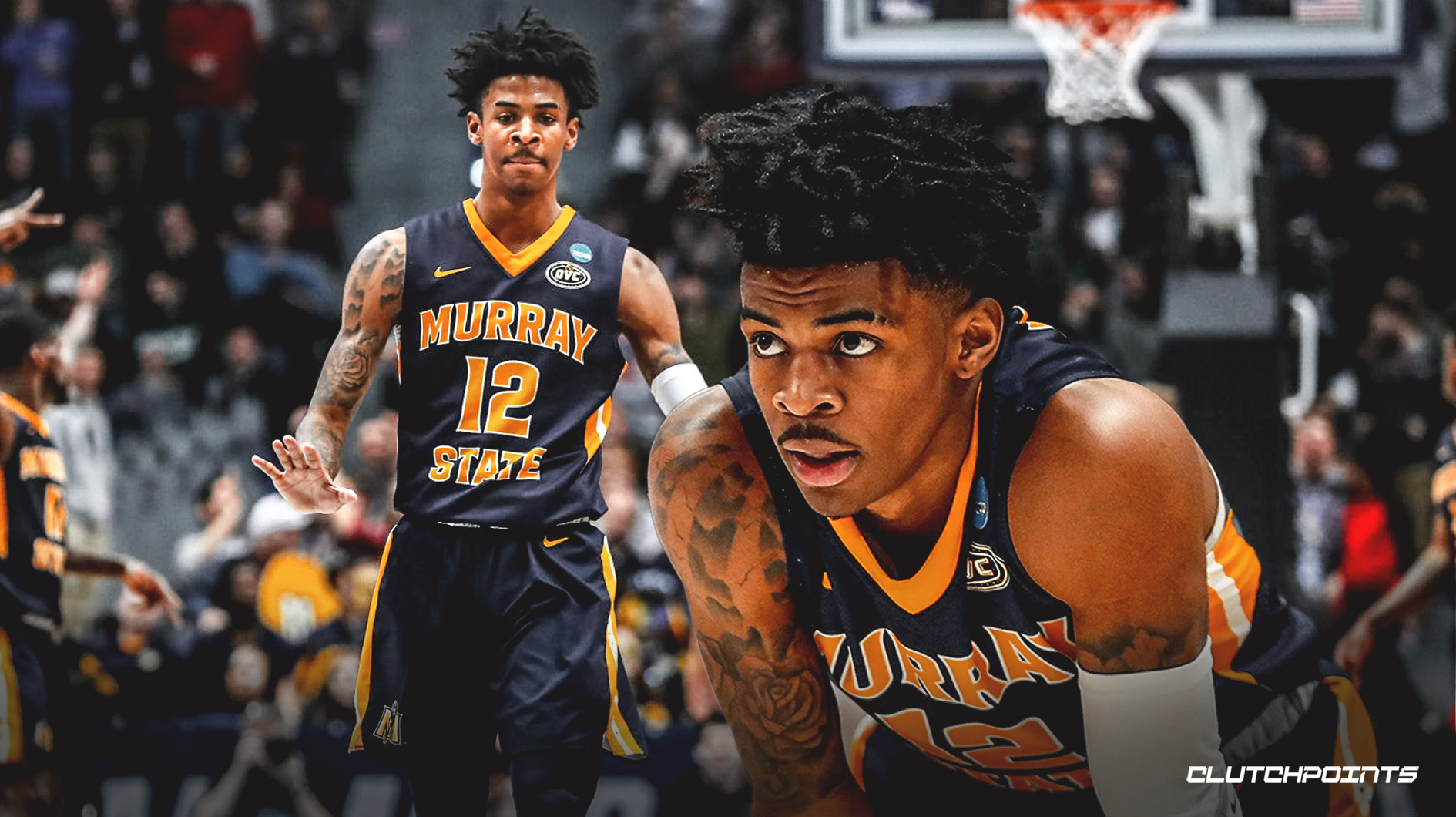 Ja Morant averaged 24.5 points, 10 assists, and 5.7 rebounds while scoring 49% from the field.