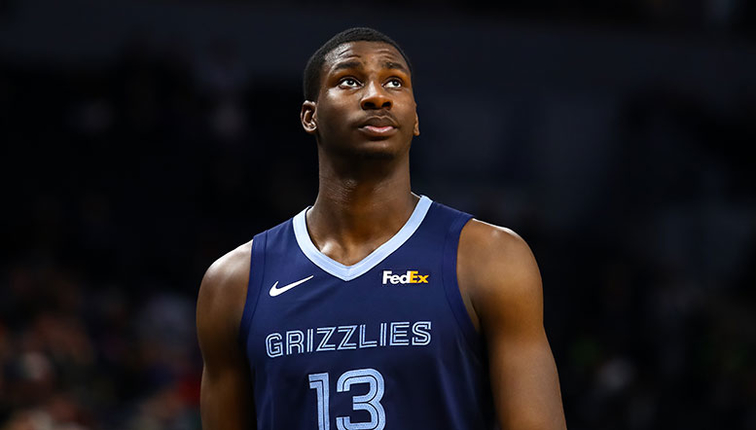 Jaren Jackson Jr. in his first year in the NBA averaged 13.8 points, 4.7 rebounds, 1.4 blocks, while scoring 50% from the field.