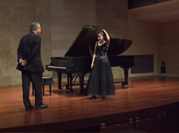Improvisation at a recital