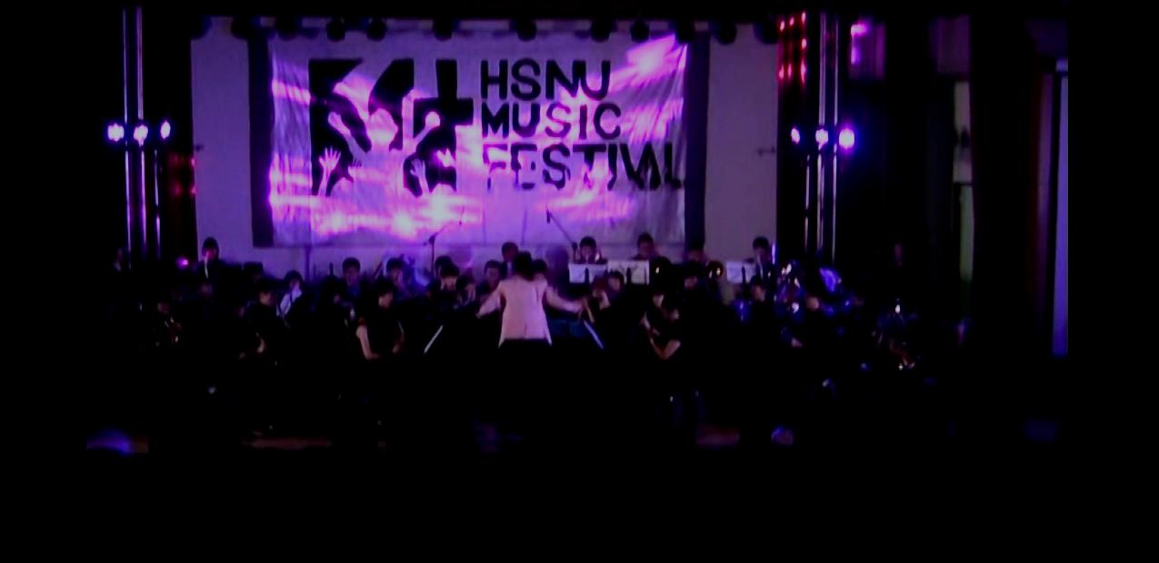 Conducting HSNU Wind Band