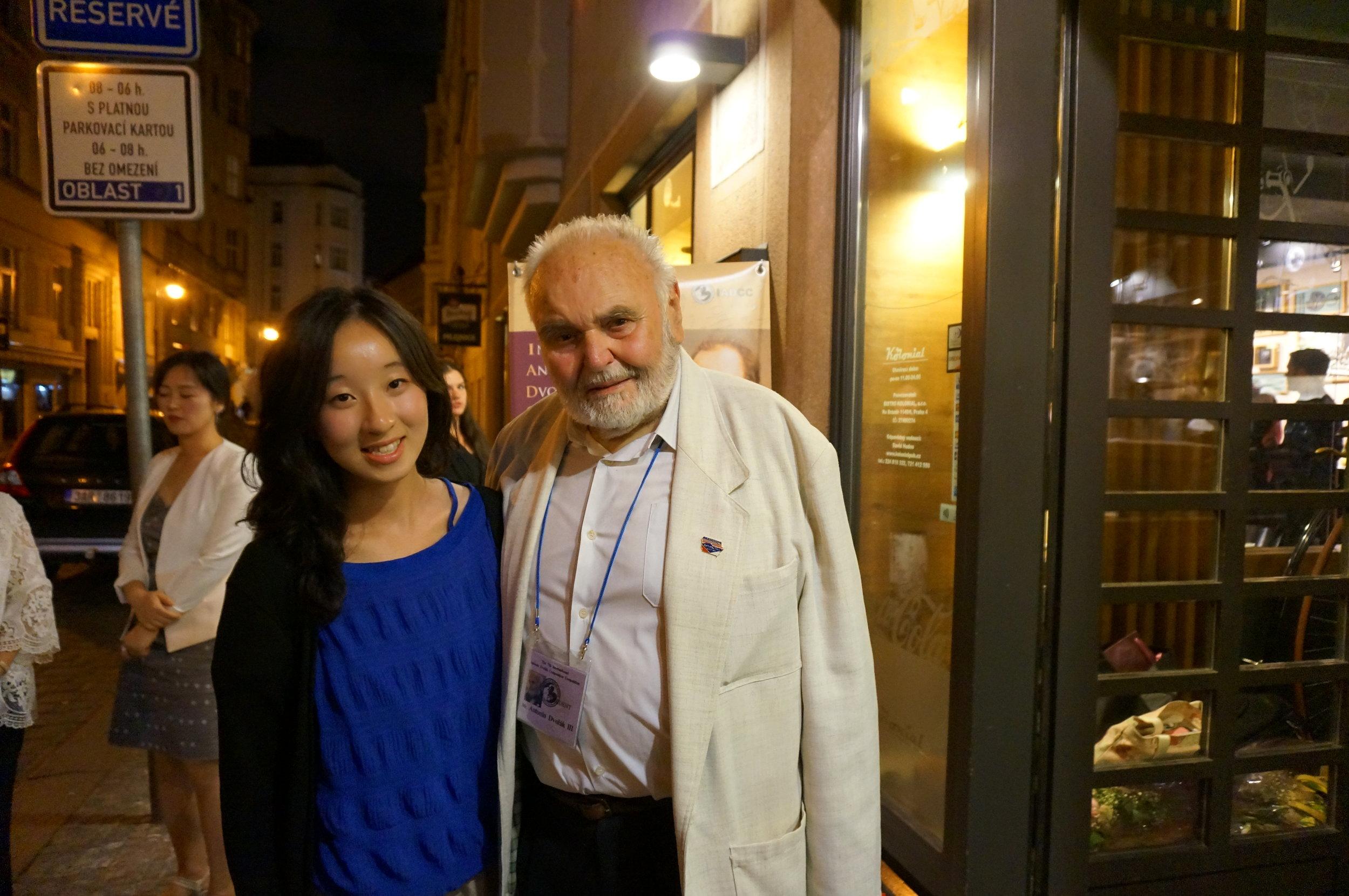 With Antonín Dvorak III