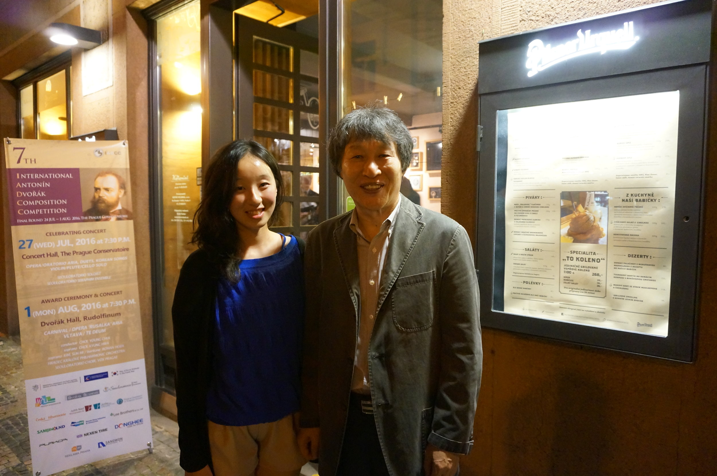 With the conductor Young-Chul Choi