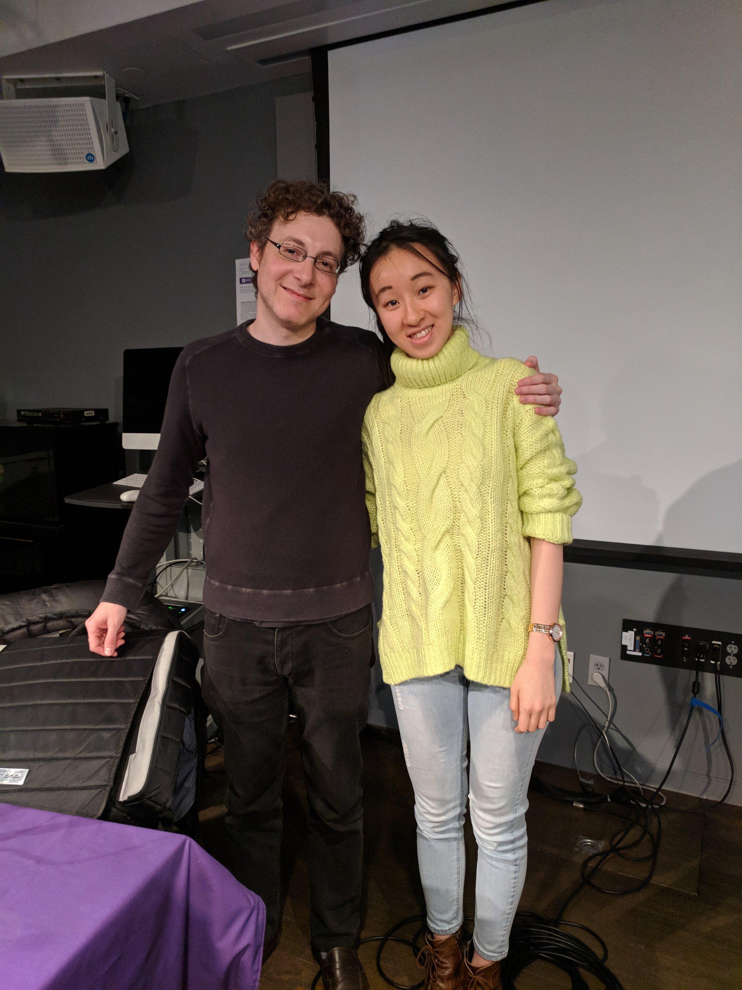 With Nicholas Britell