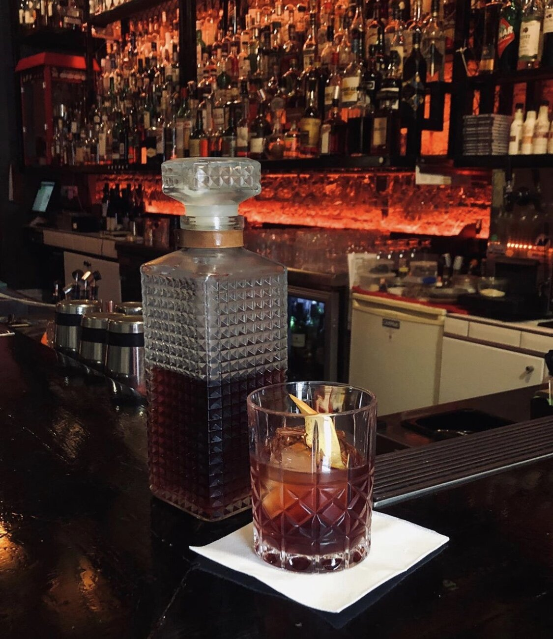 Negroni happy hour - Classic Negroni.$15 from 4pm - 6pm Wednesday - Saturday