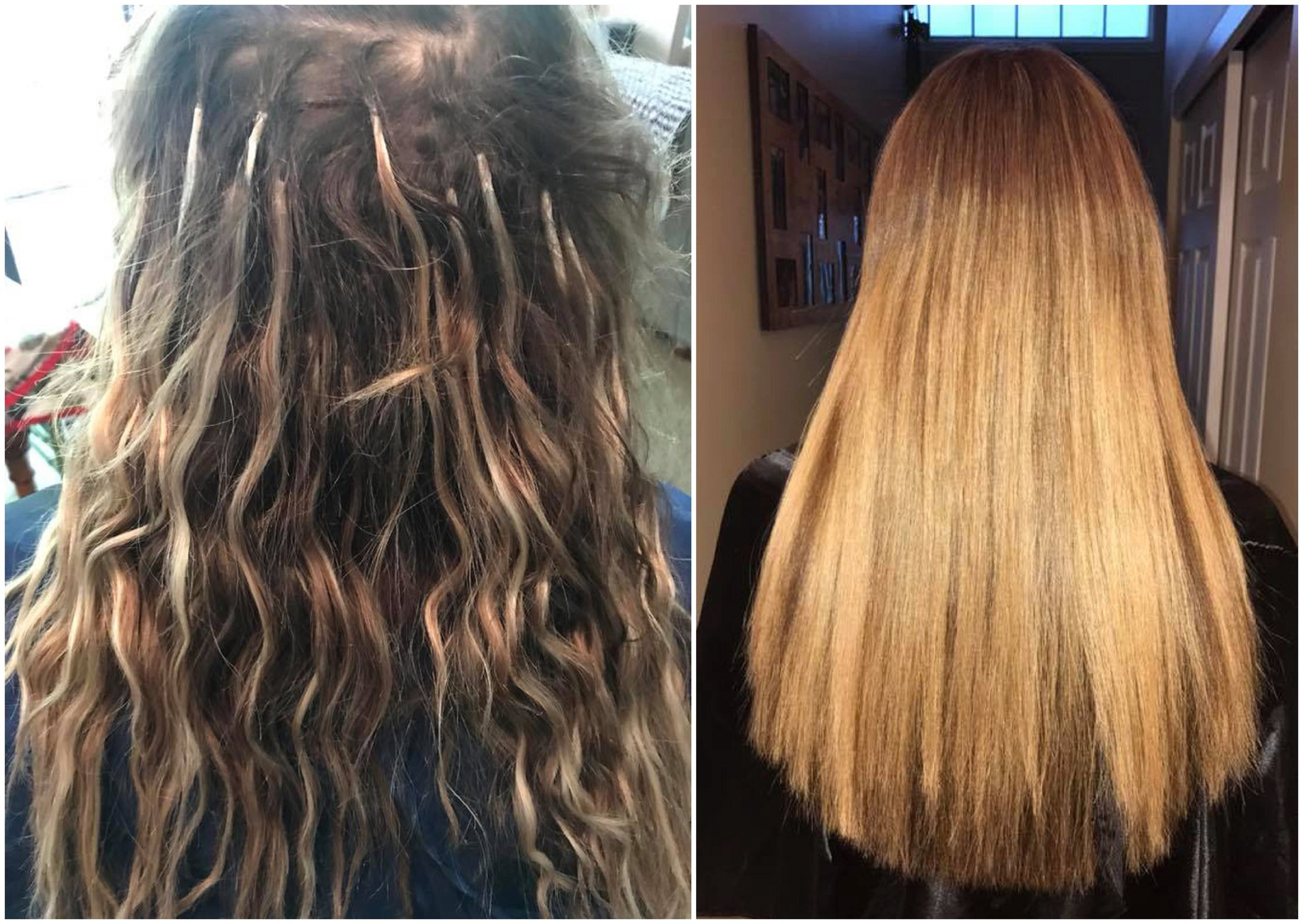 """Sharon (Extensions) - """"You are amazing! I love my extensions and I love your work, you truly are a perfectionist! My natural hair looks and feels so healthy and has grown so much after wearing Great Lengths for one year but as you stated, I just LOVE the added fullness and length they give me.You certainly are the BEST!!"""""""