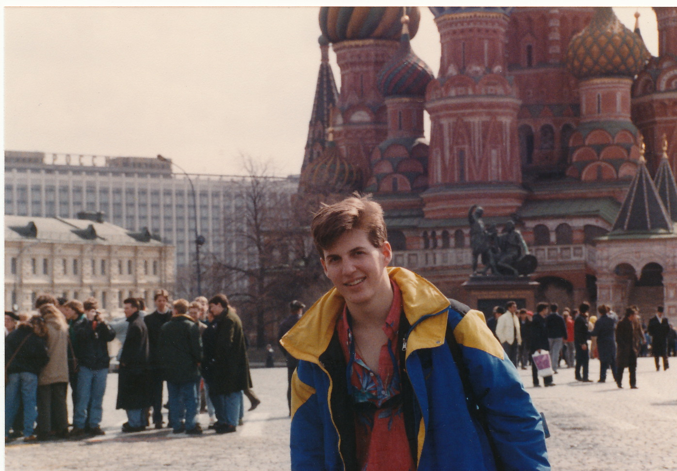 Jeff in Moscow, 1988