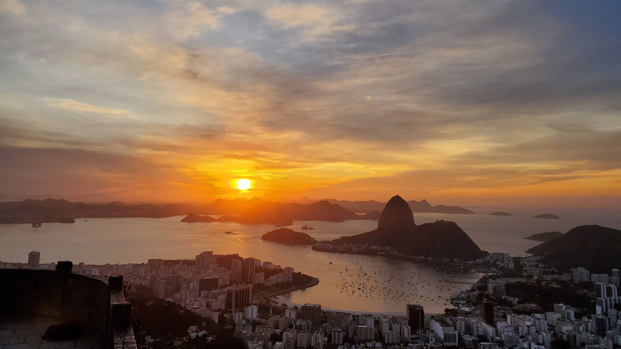 Sunrise from Mirante Dona Marta