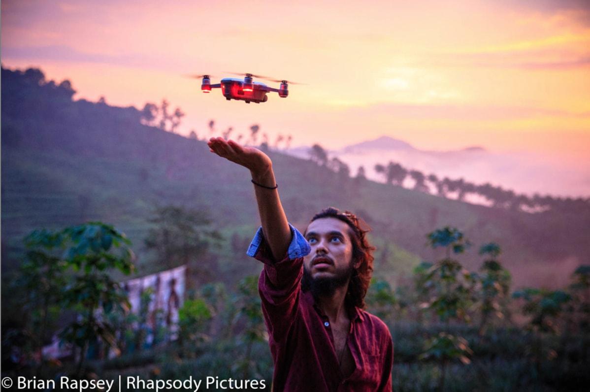 Wayanad Valley Drone Shoot