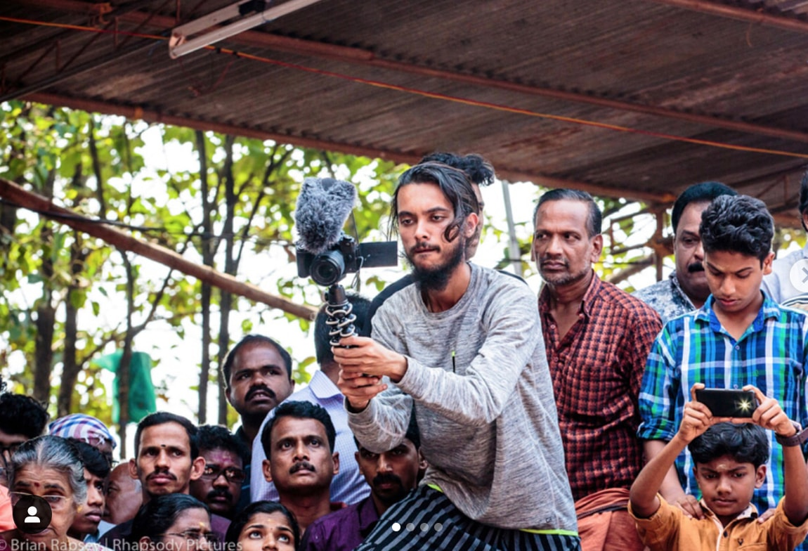 In Action: Filming the mystical Theyyam ceremony in Kerala