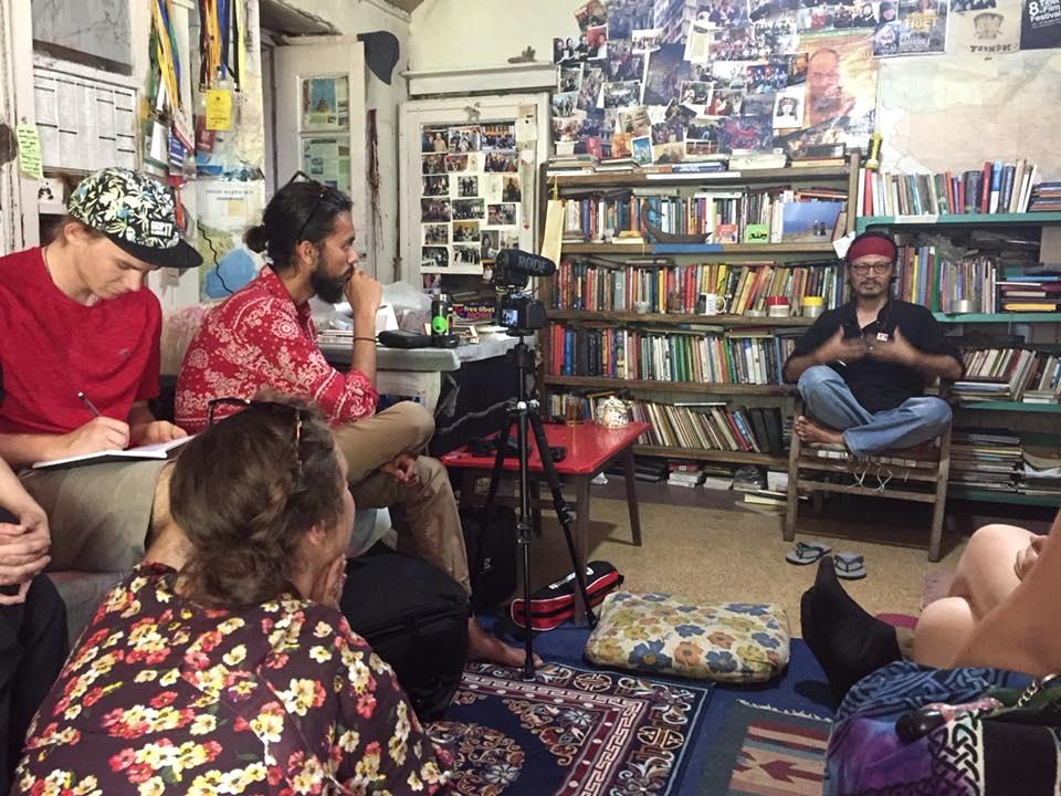 Interviewing Tenzin Tsundue