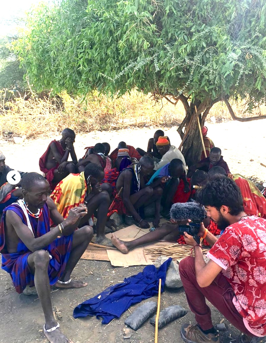 Interviewing in a Maasai community