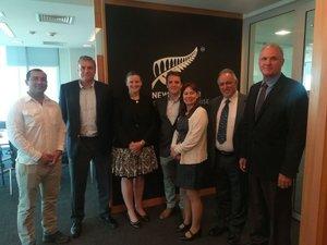 MV Comunicaciones, 20 Apr 2018 # Nueva Zelandia compartirá su vasta experiencia en minería con Chile