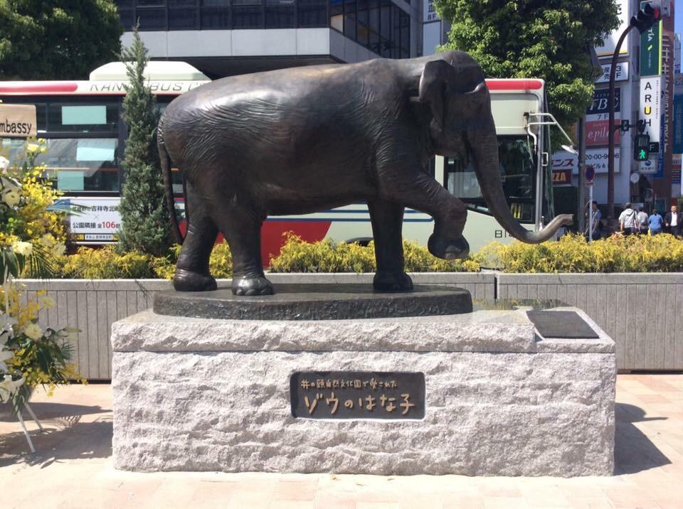 笛田亜希「ゾウのはな子」