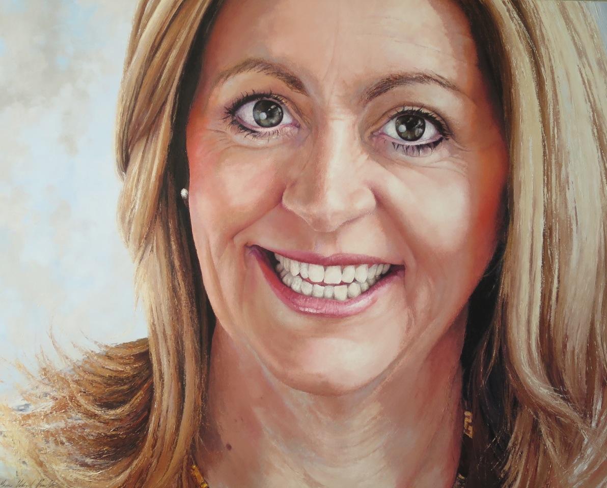 Lisa Scaffidi, Oil, 153 x 122cm,  $8,000