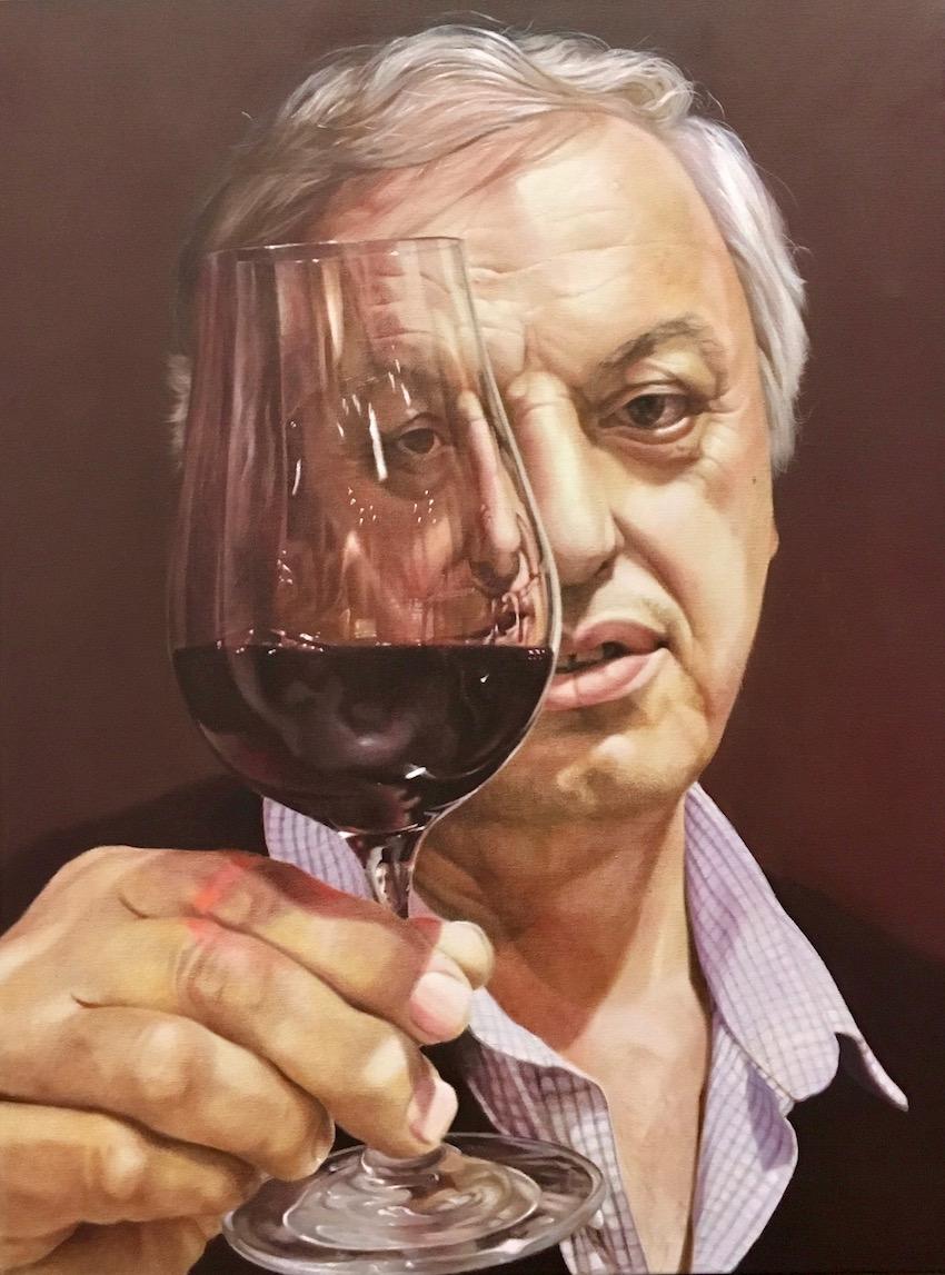 Appreciation (Michael Tamburri), Oil, 76 x 101cm,  $6,500