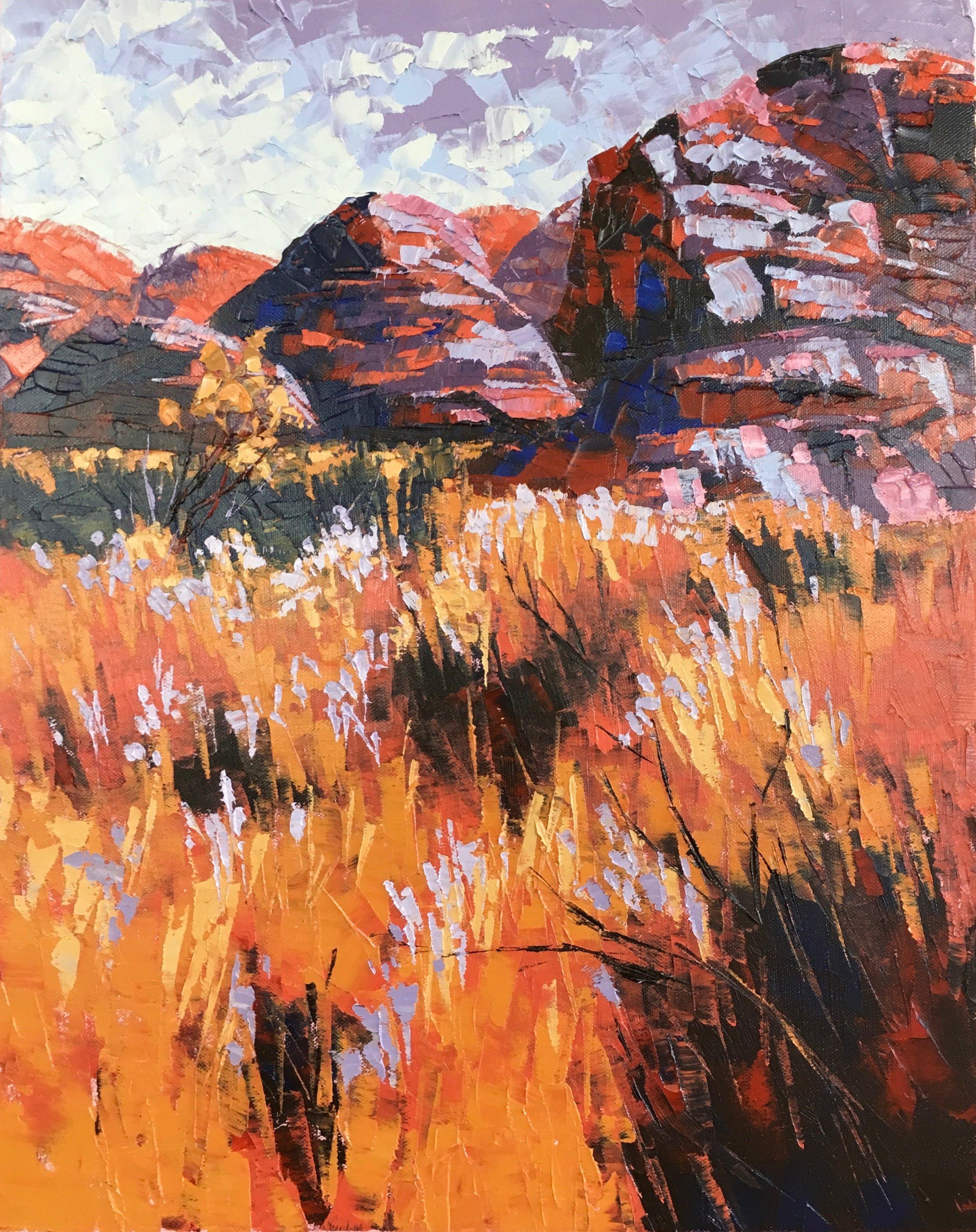 Bungles Bungles, Oil, 41 x 51cm,  $600
