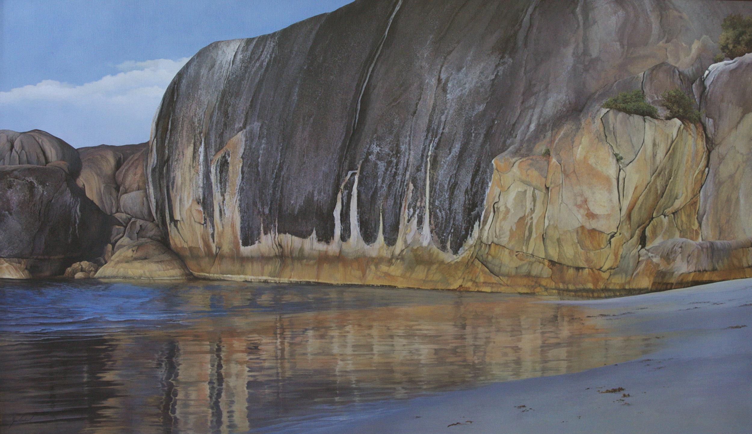 Elephant Rock (Albany), Acrylic, 200 x 100cm,  $4,900