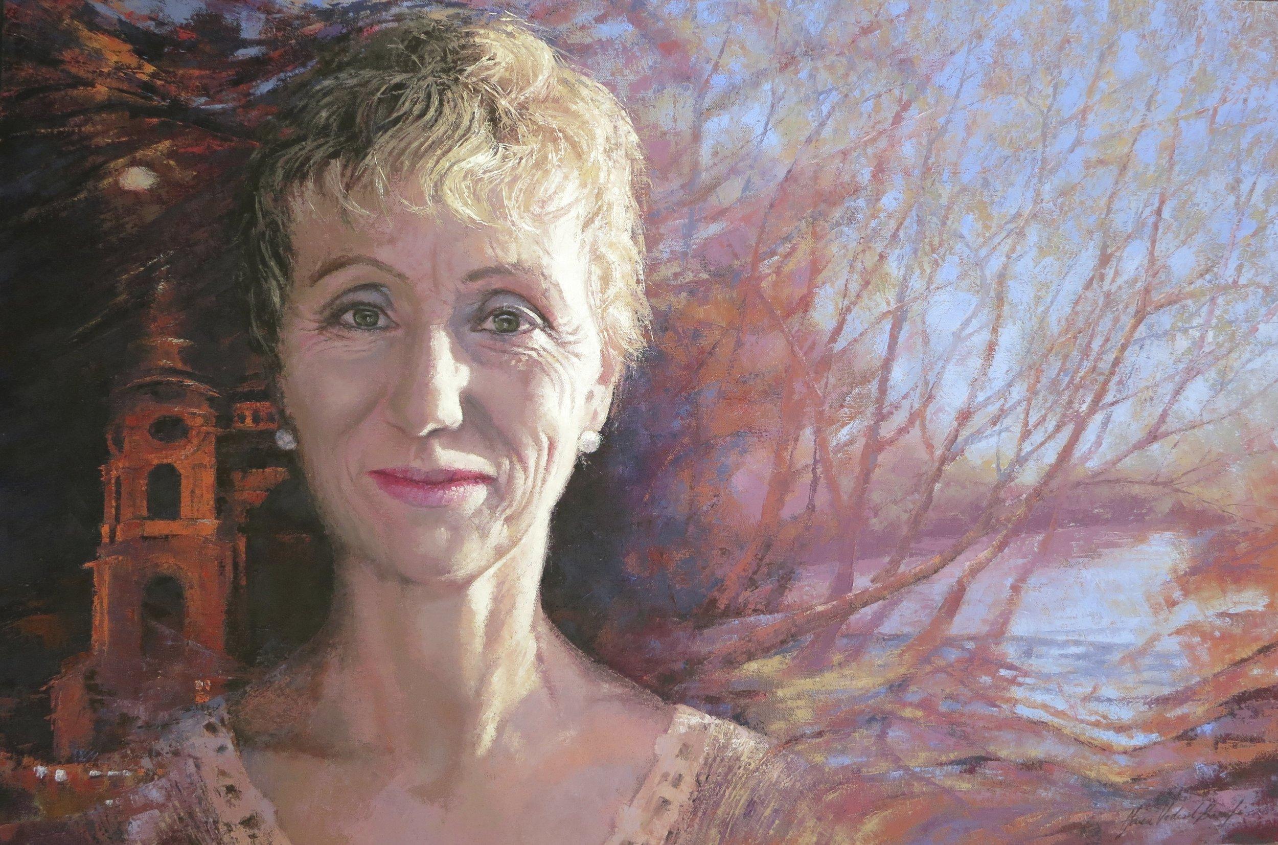 Self Portrait II, Oil, 70 x 50cm,  NFS