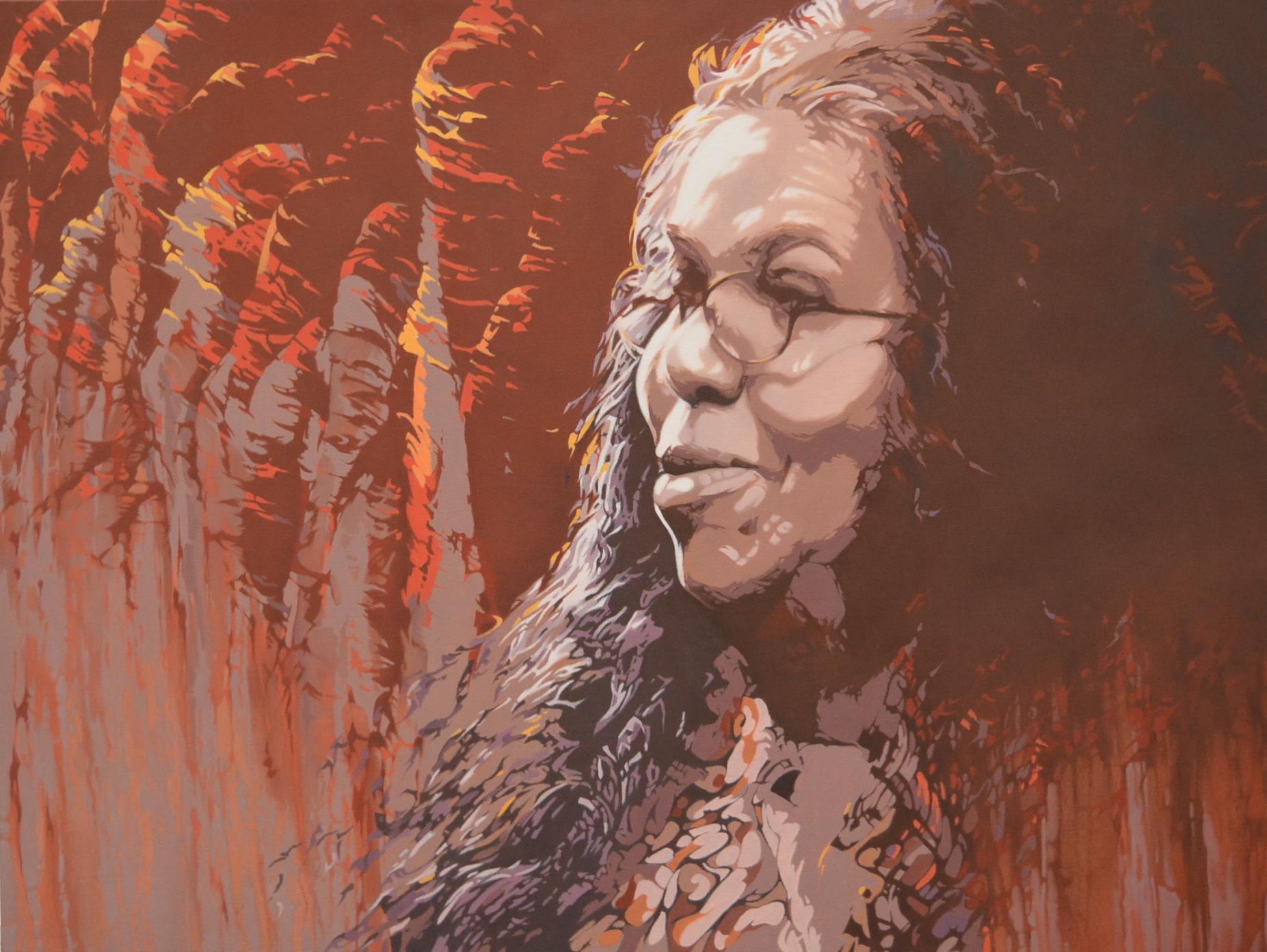 Coming Home (Carol Martin), Mixed Media, 122 x 92cm,  $6,500