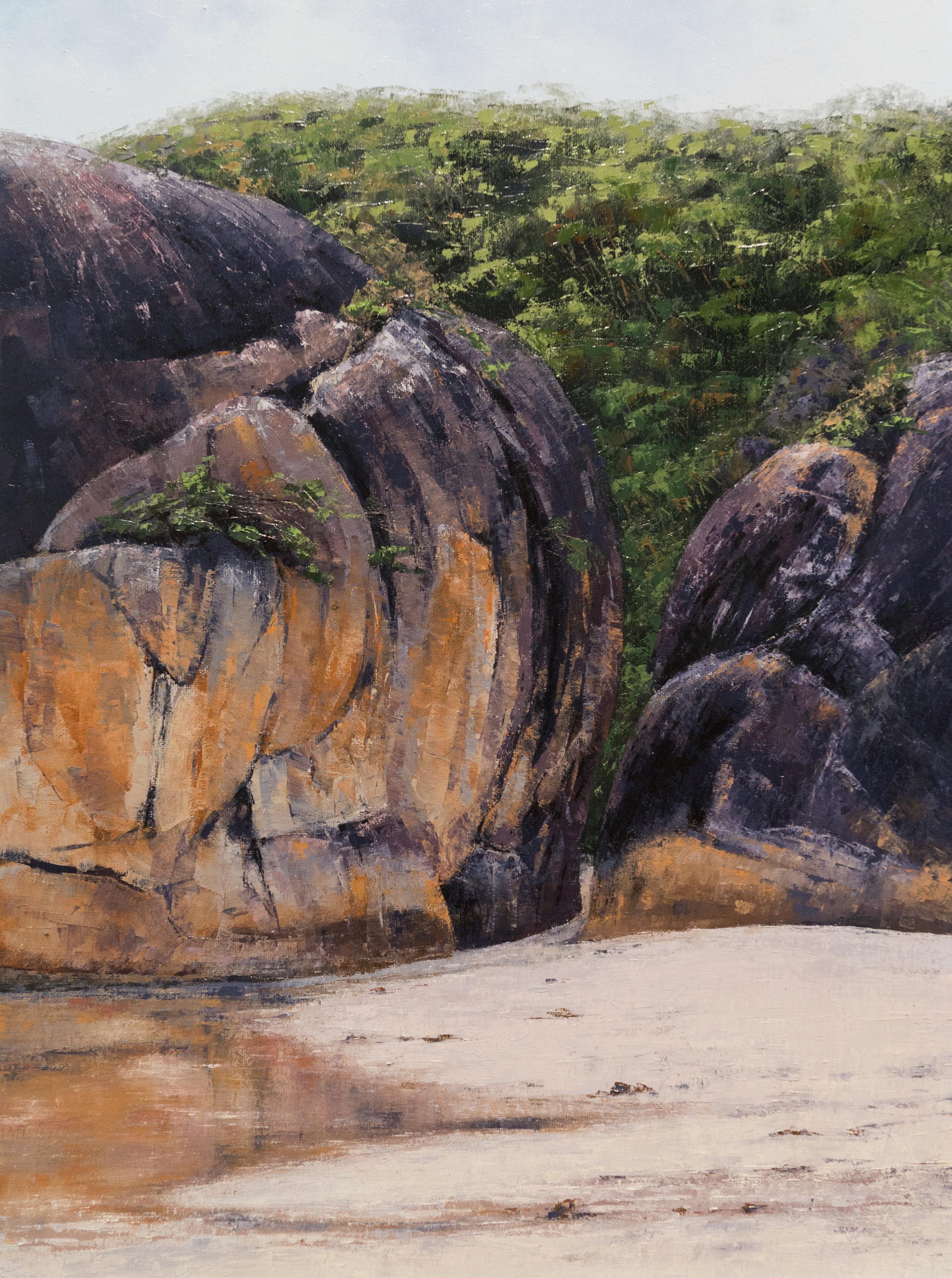 Elephant Rock, Oil, Framed, 58 x 72cm,  $1,600