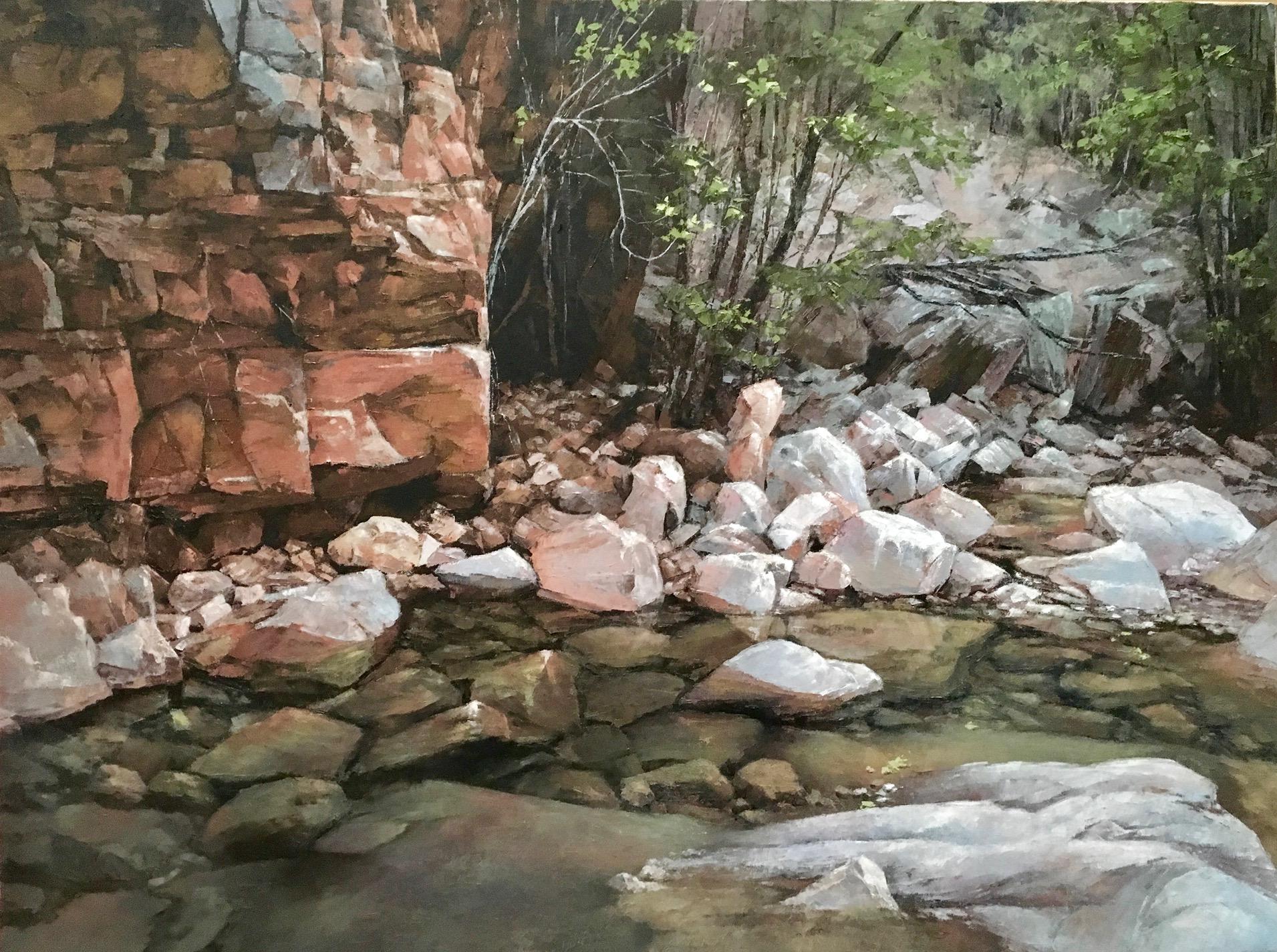 Kimberley, Oil, 101 x 76cm,  $4,900