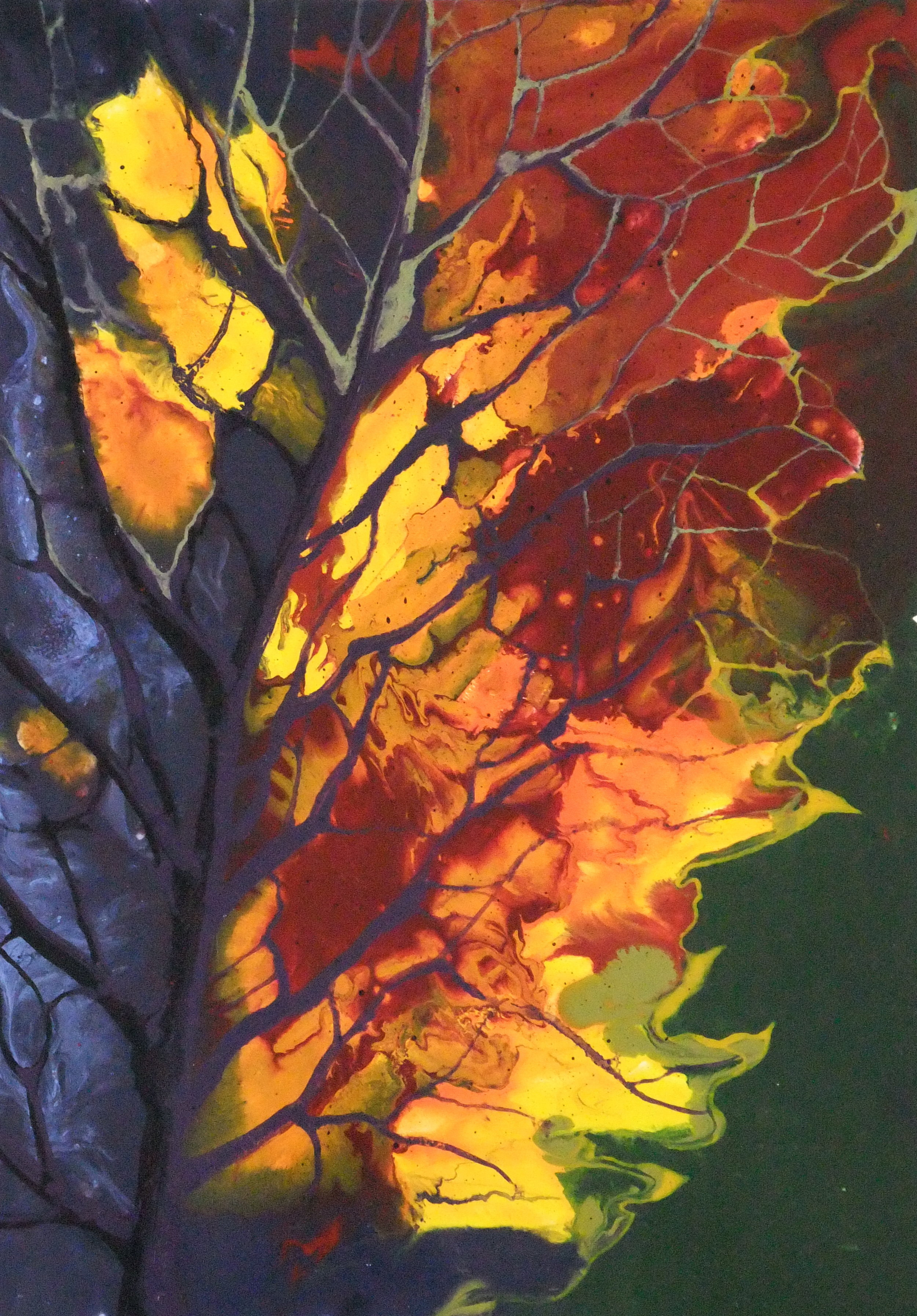 Colours of Nature, Mixed Media,  SOLD
