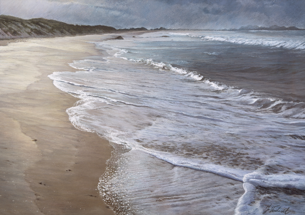 Before The Storm, Pastel,  SOLD