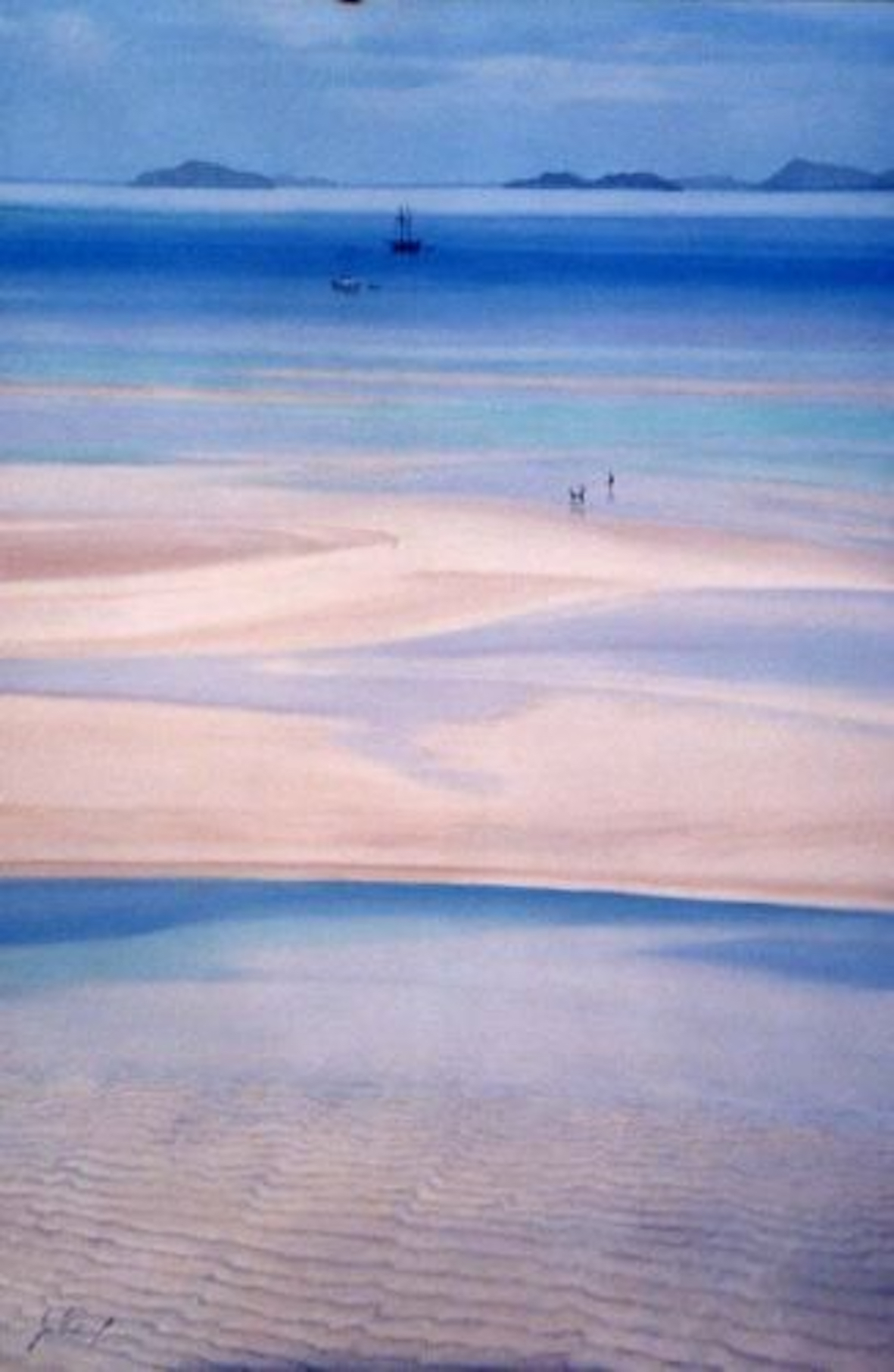 Hill Inlet II, Oil,  SOLD