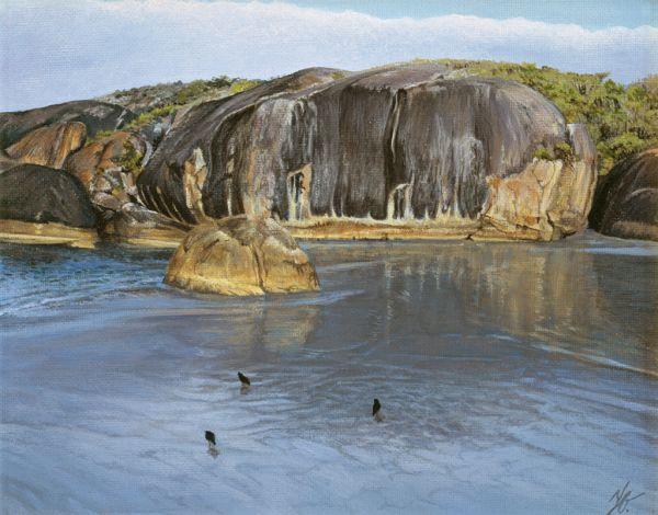Elephant Rock, Oil,  SOLD