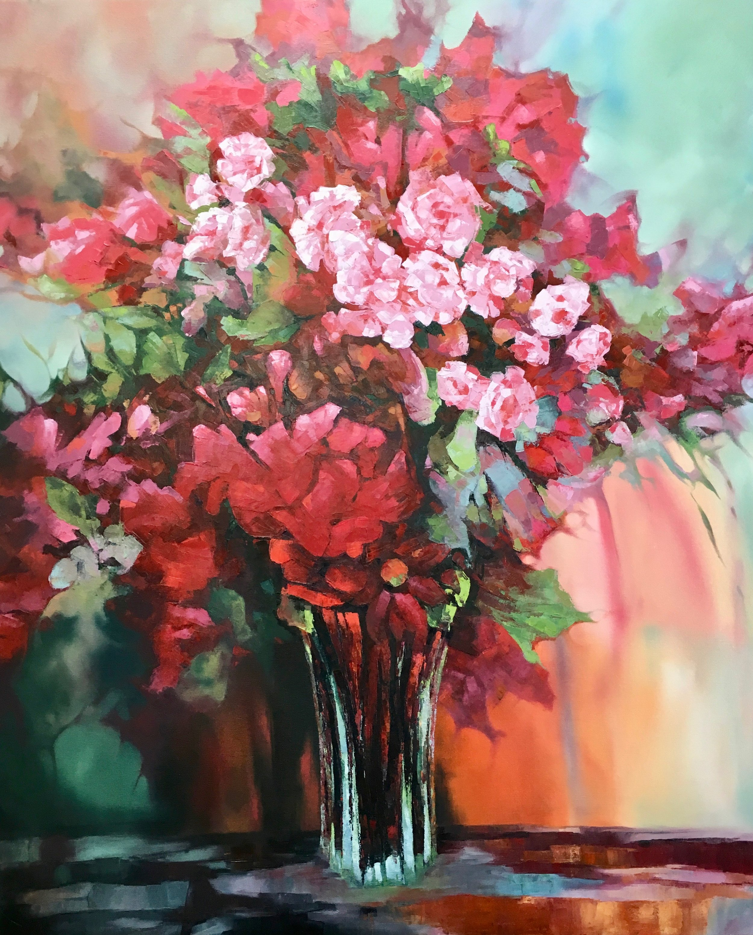 Passion, Oil,  SOLD