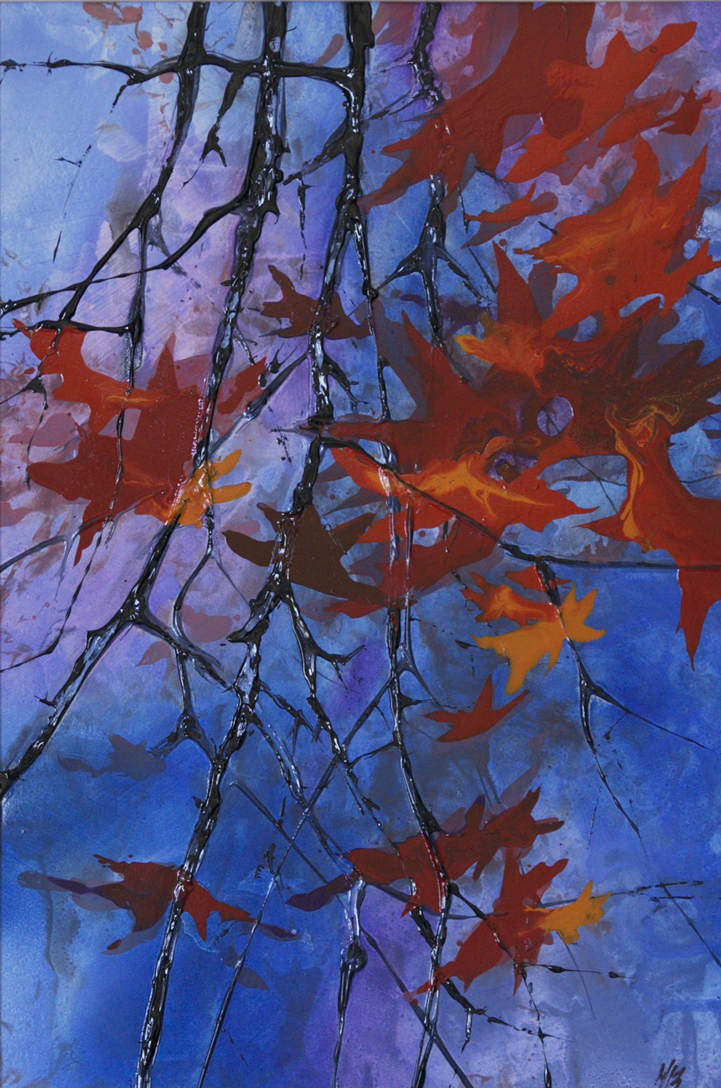 Garden Treasures II, Acrylic, 50 x 63cm,  SOLD