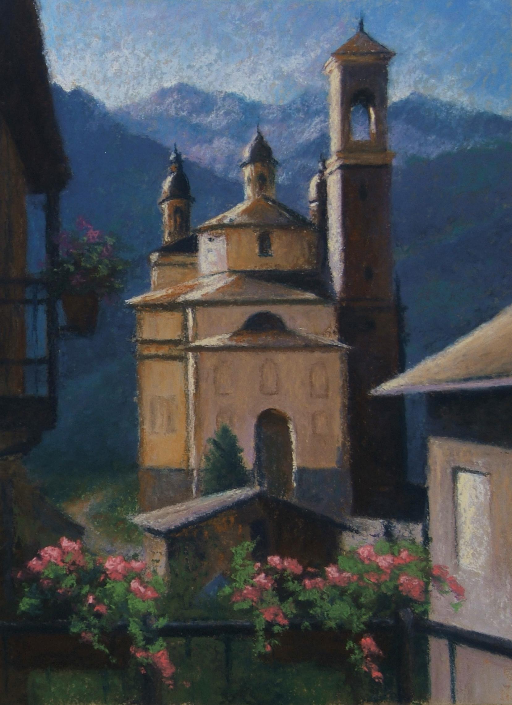 Santa Casa II, Pastel,  SOLD