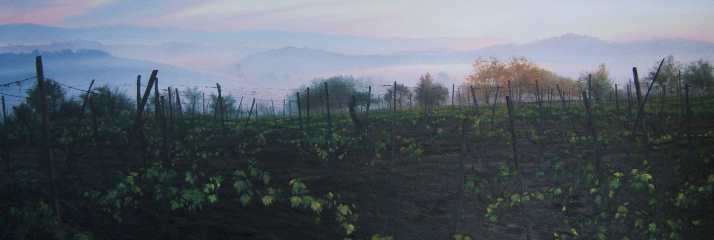 Morning Contemplation, Oil, Framed, 140 x 40cm,  SOLD