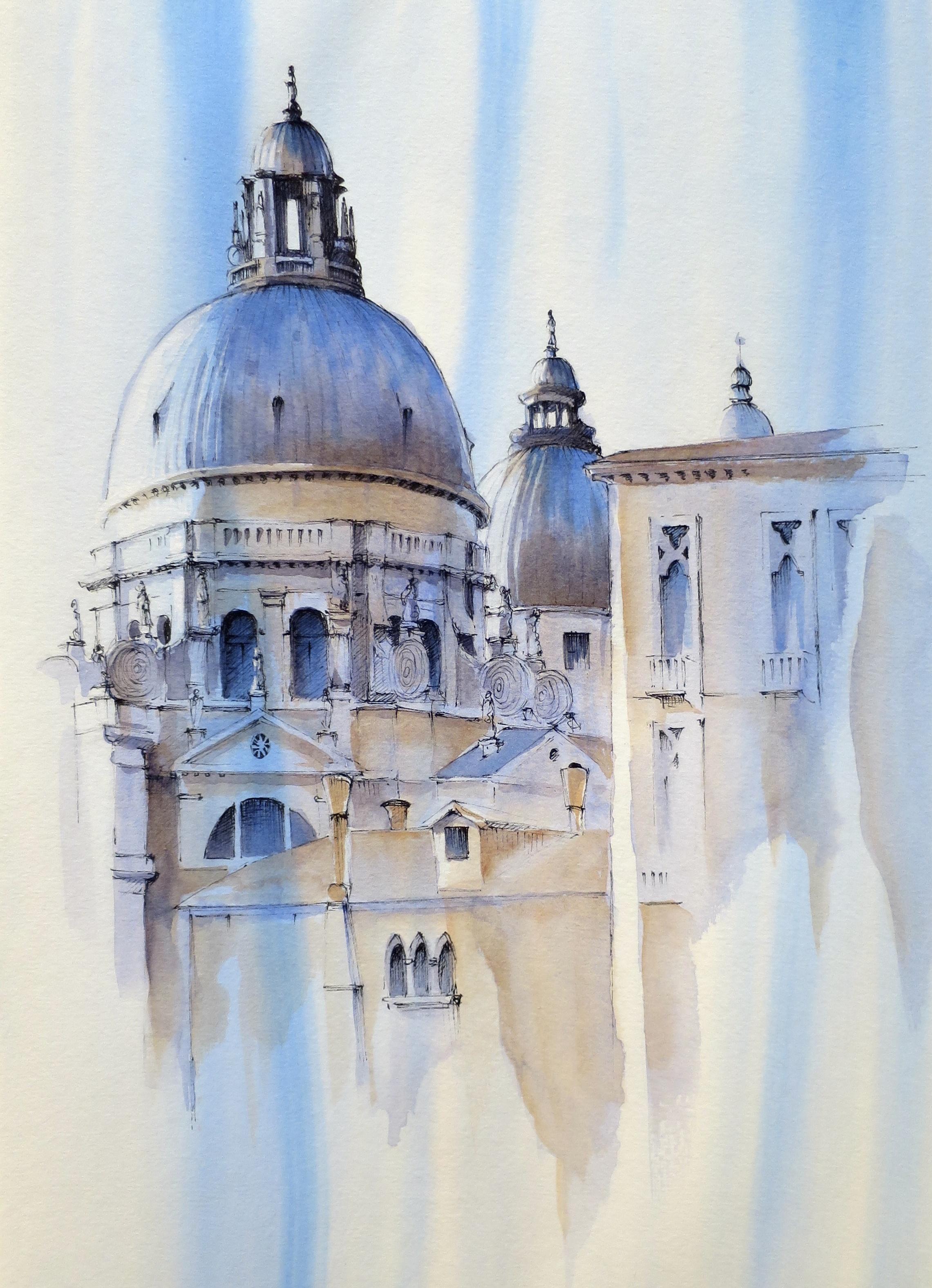 Venice, Watercolour,  SOLD