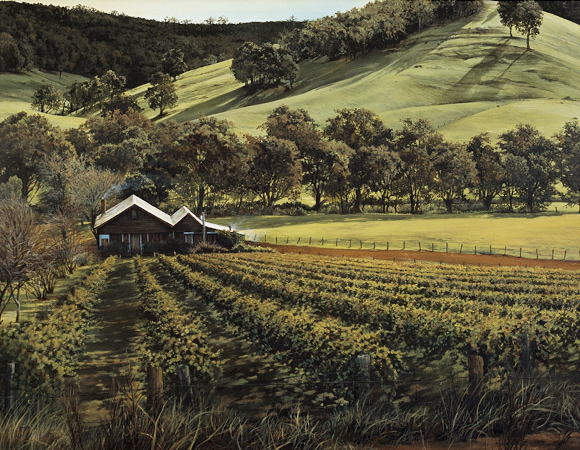 Dad's Farm, Oil,  NFS