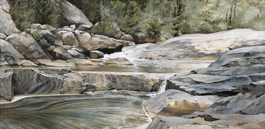 Murray River, Oil,  SOLD