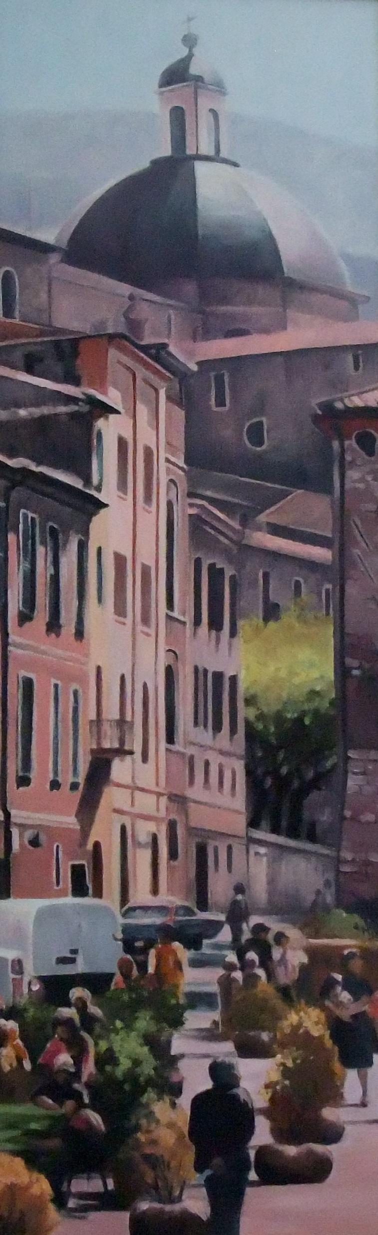 Chiesa Nuova (Assisi), Oil,  SOLD