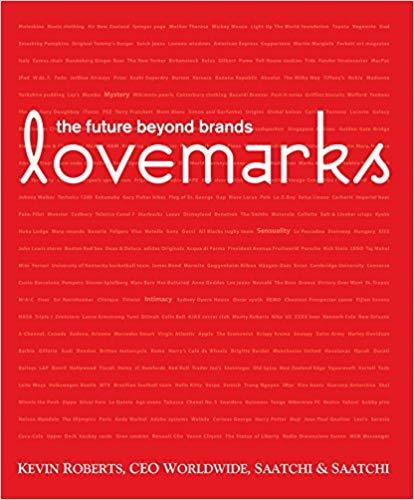 Der Bestseller von Kevin Roberts, CEO der international erfolgreichen werbeagenturkette Saatchi & Saatchi zum Thema Sinnmarken [Foto: Amazon]