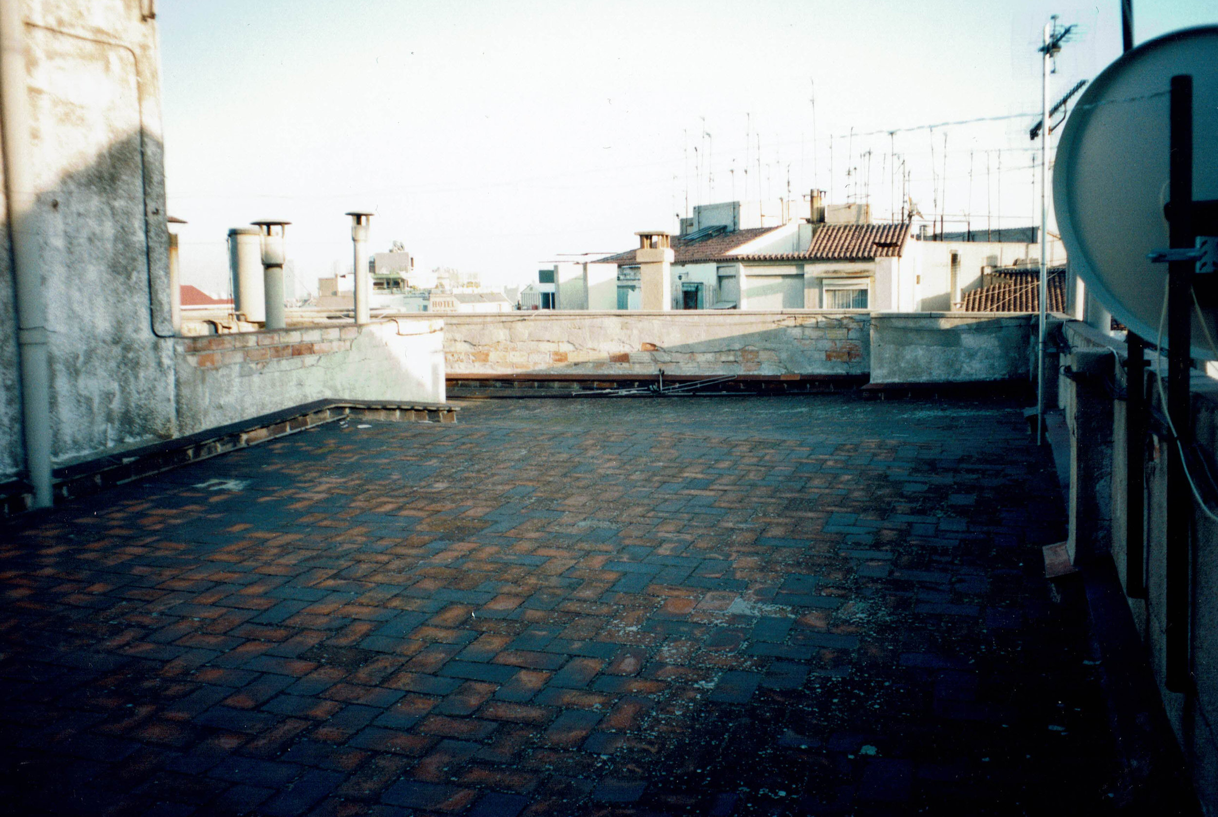 Terraza / antes