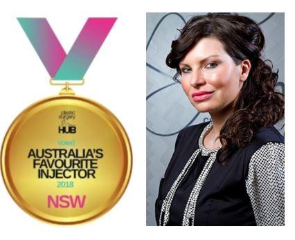 Senior Trainer Aska Lagodko voted Australia's Favourite Injector