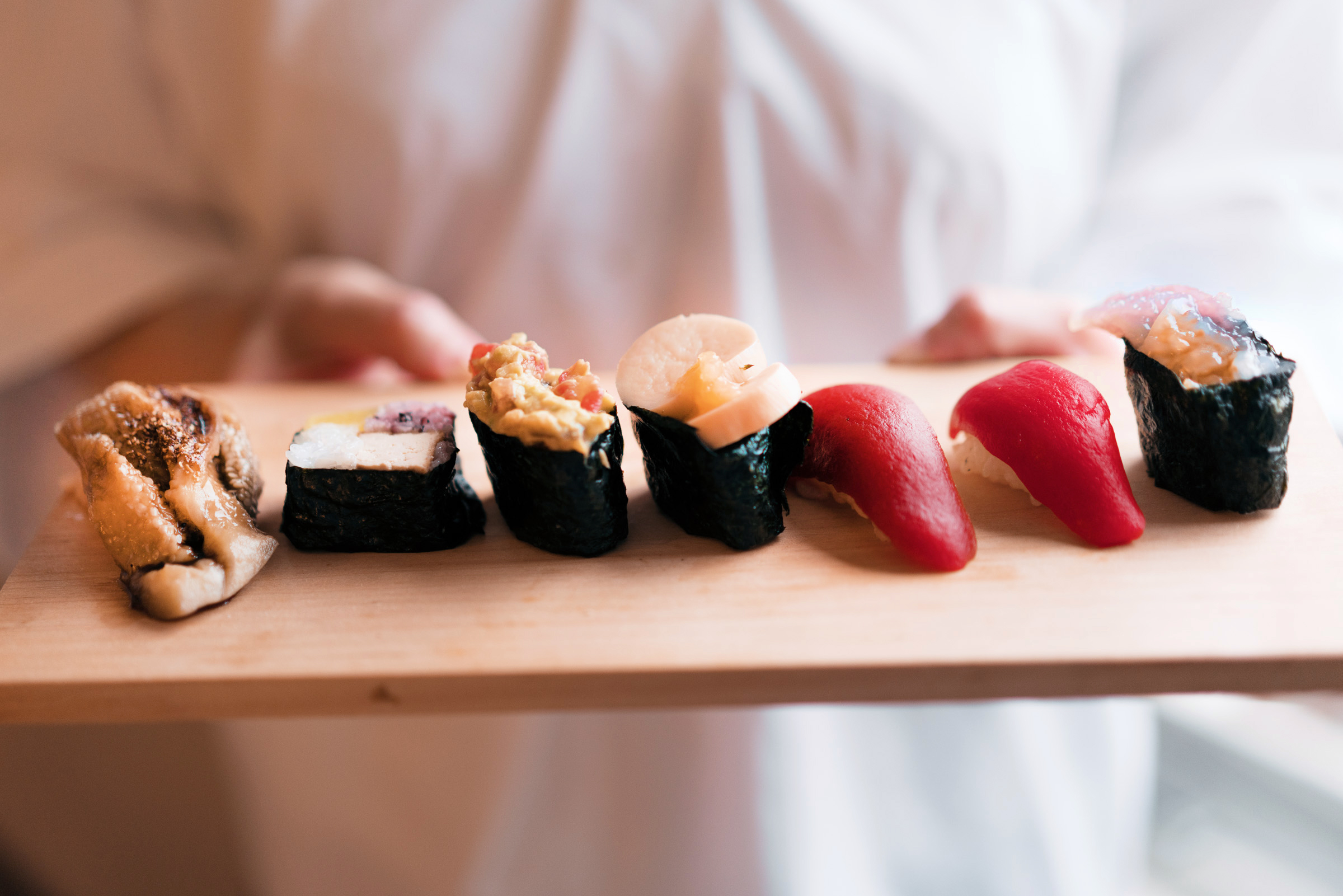 People tell me I am trust-worthy but… - My sushi is deceiving … surprise surprise
