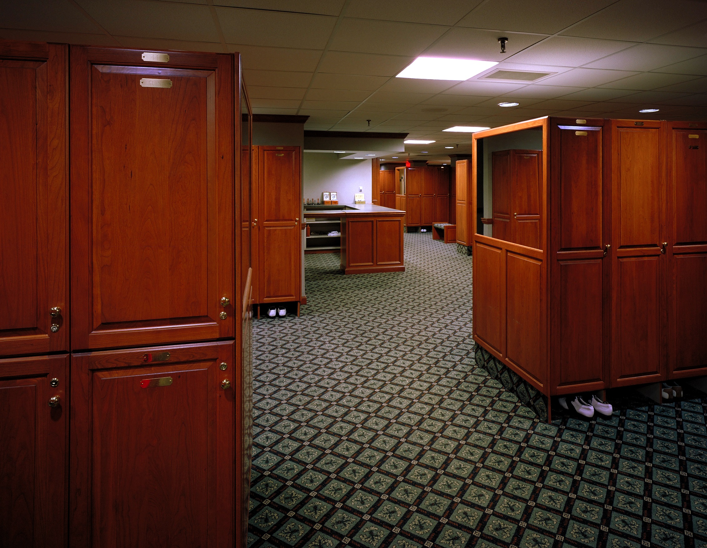 Locust Hill Country Club, Locker Room