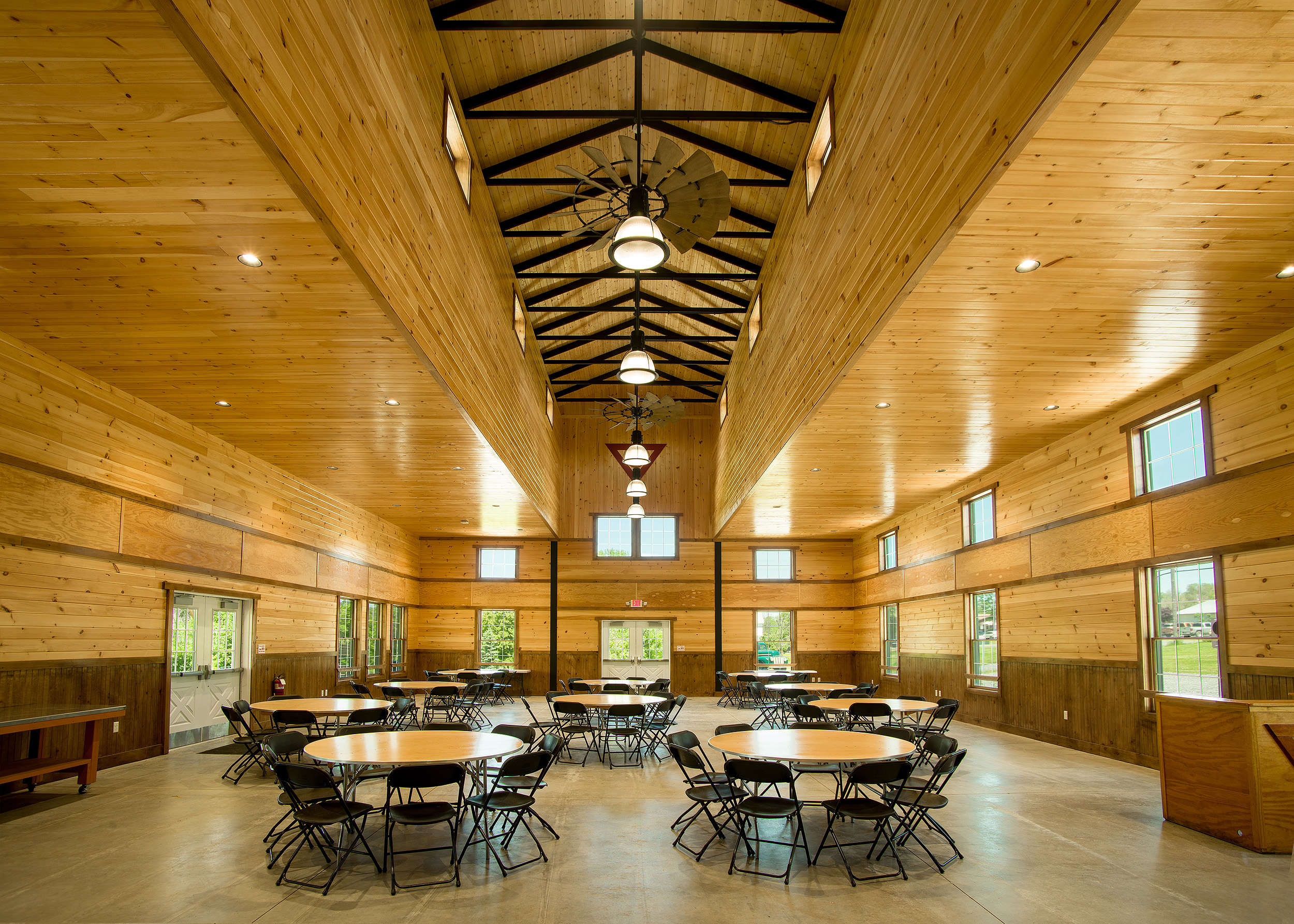 YMCA Camp Cory, Penn Yan, NY  Dining Hall