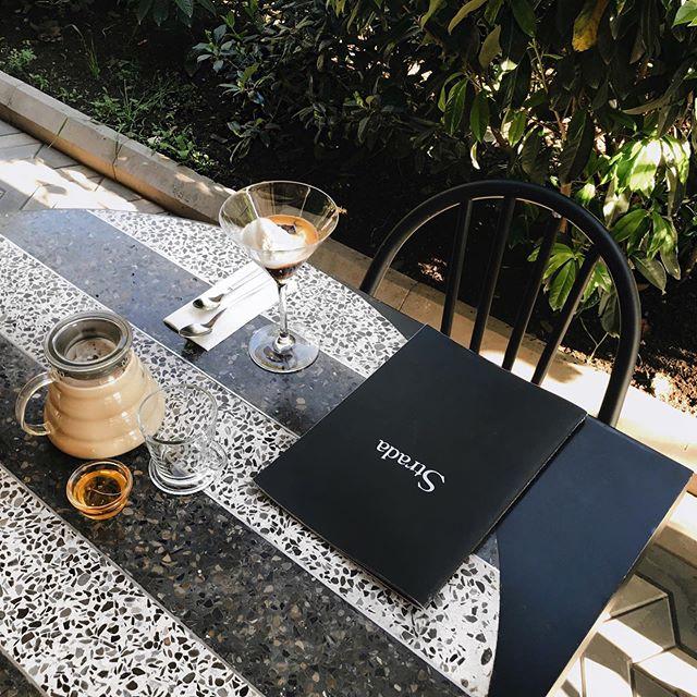 ბისკვიტი თბილი კარამელით და მასლა ჩაი რძით, უკვე ნახეთ ჩვენი განახლებული მენიუ? 😋🍴 • Have you already seen our new menu? #StradaTbilisi