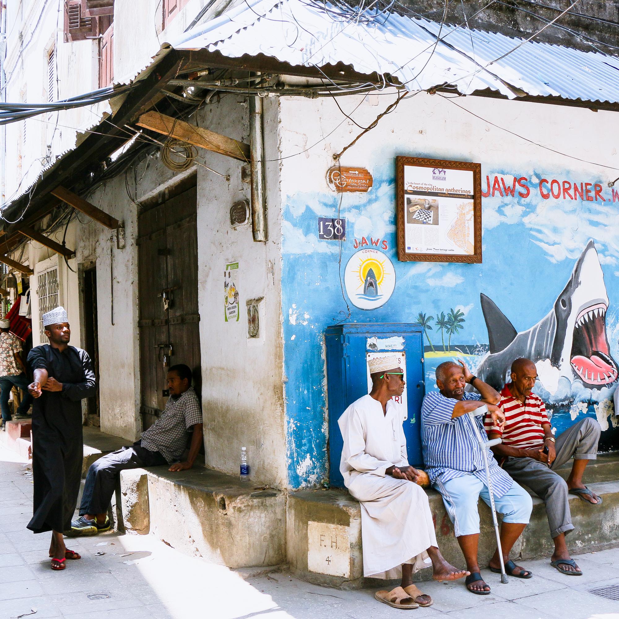 Jaws Corner Stone Town Zanzibar