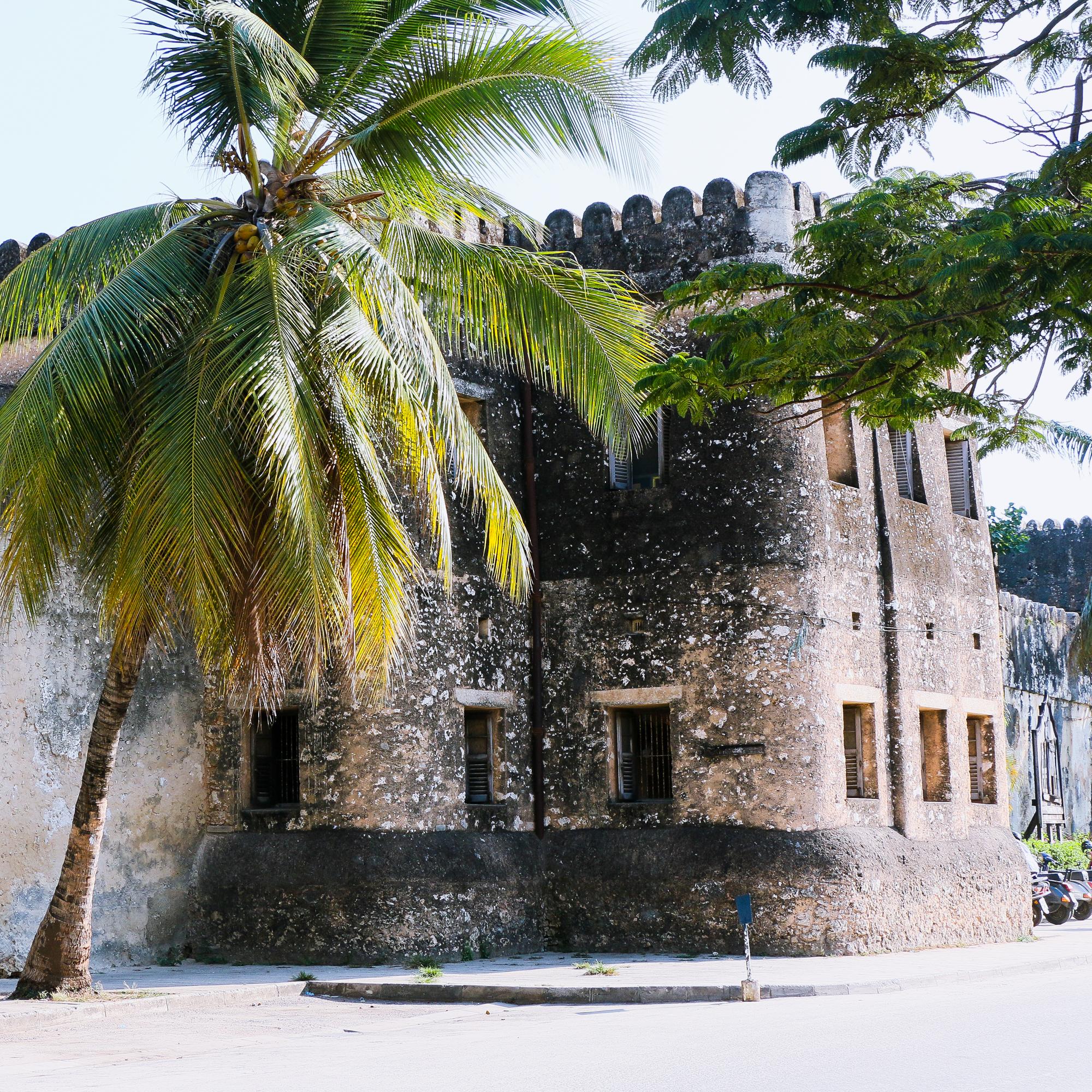 Historic building stone Town Zanzibar