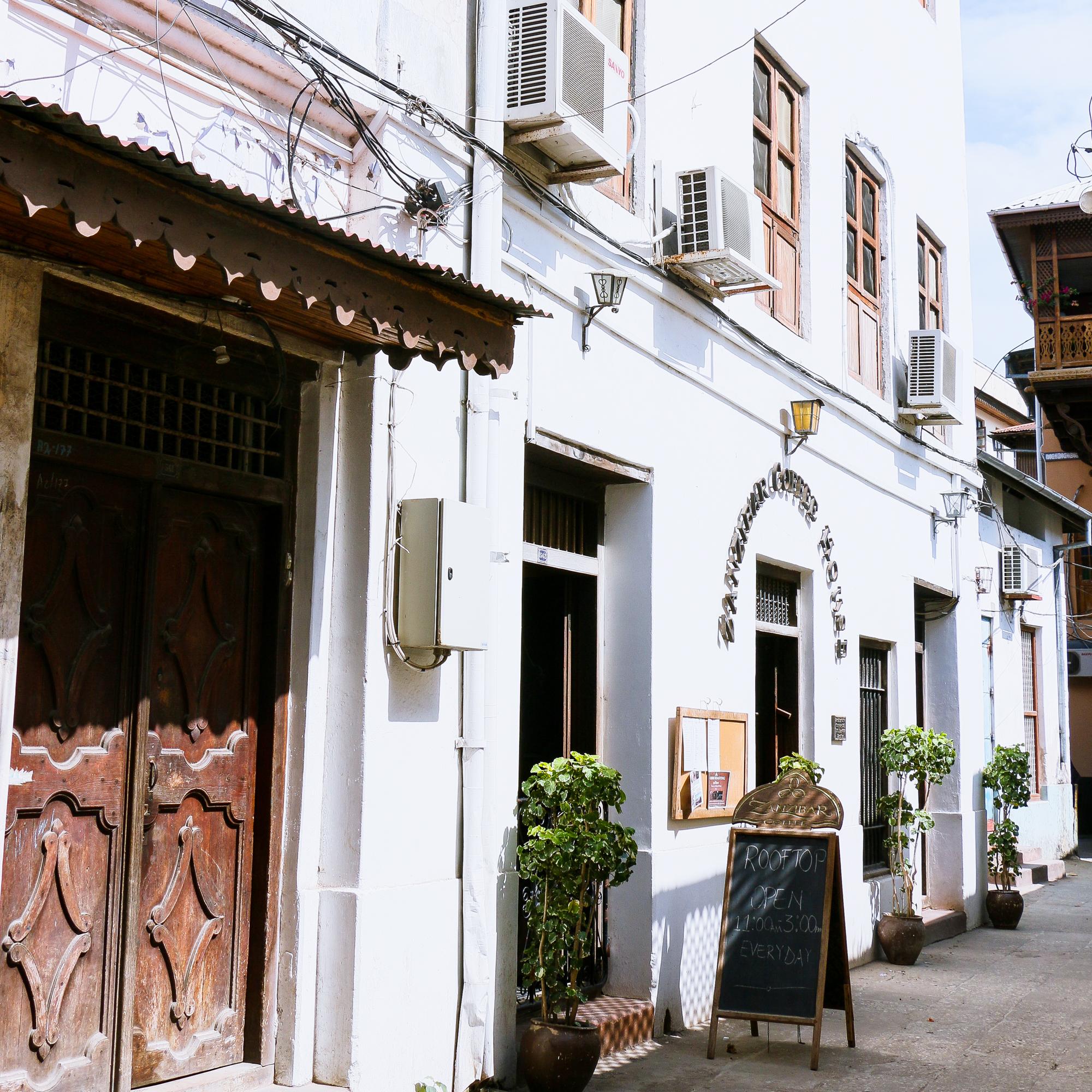 Street view Stone Town Zanzibar
